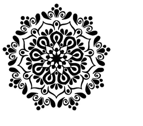 Download Mandala SVG cutting file