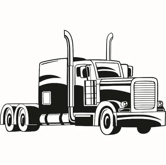 Truck Driver 8 Trucker Big Rigg 18 Wheeler Semi Tractor