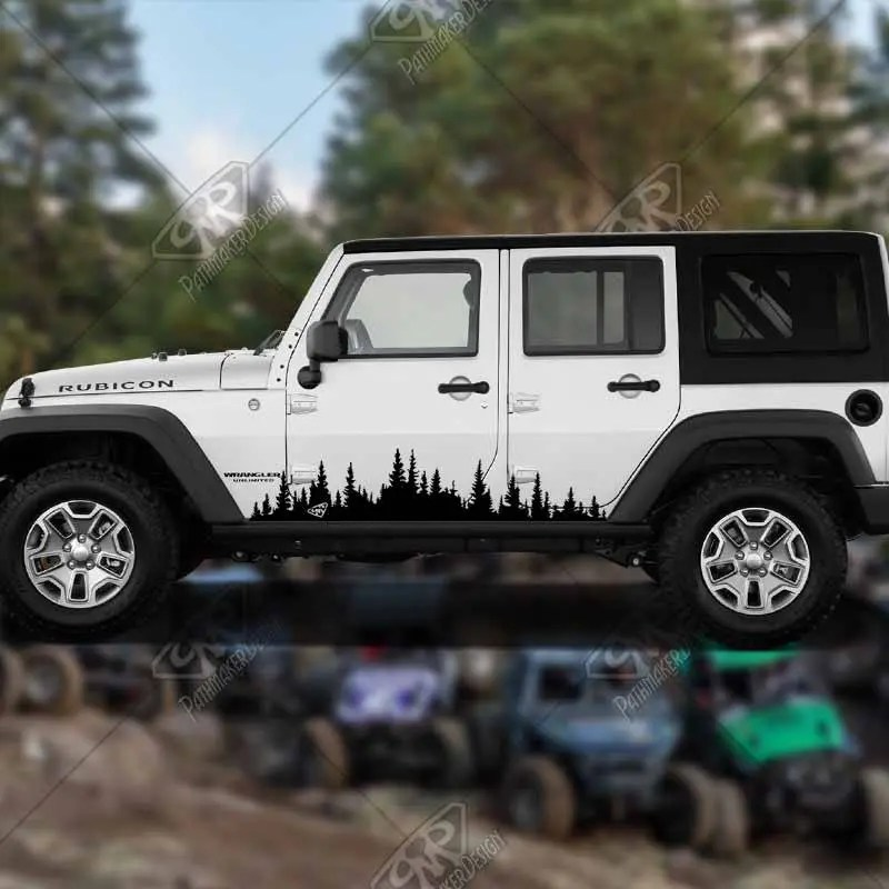 DECAL - [Forest Banner] -...