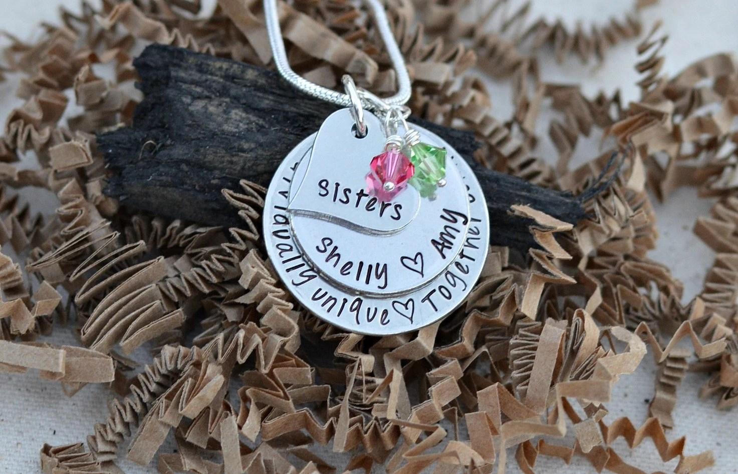 Unique Sister Gifts Sister Necklace Sister Gifts For