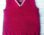 Simple crochet toddler bo...
