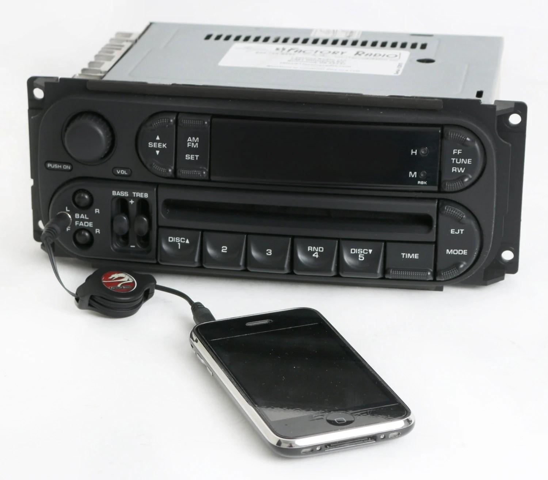 Dodge Durango Radio Aux Input