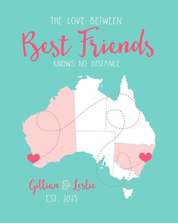 Friend Gifts Best Friend Birthday Australia Bff