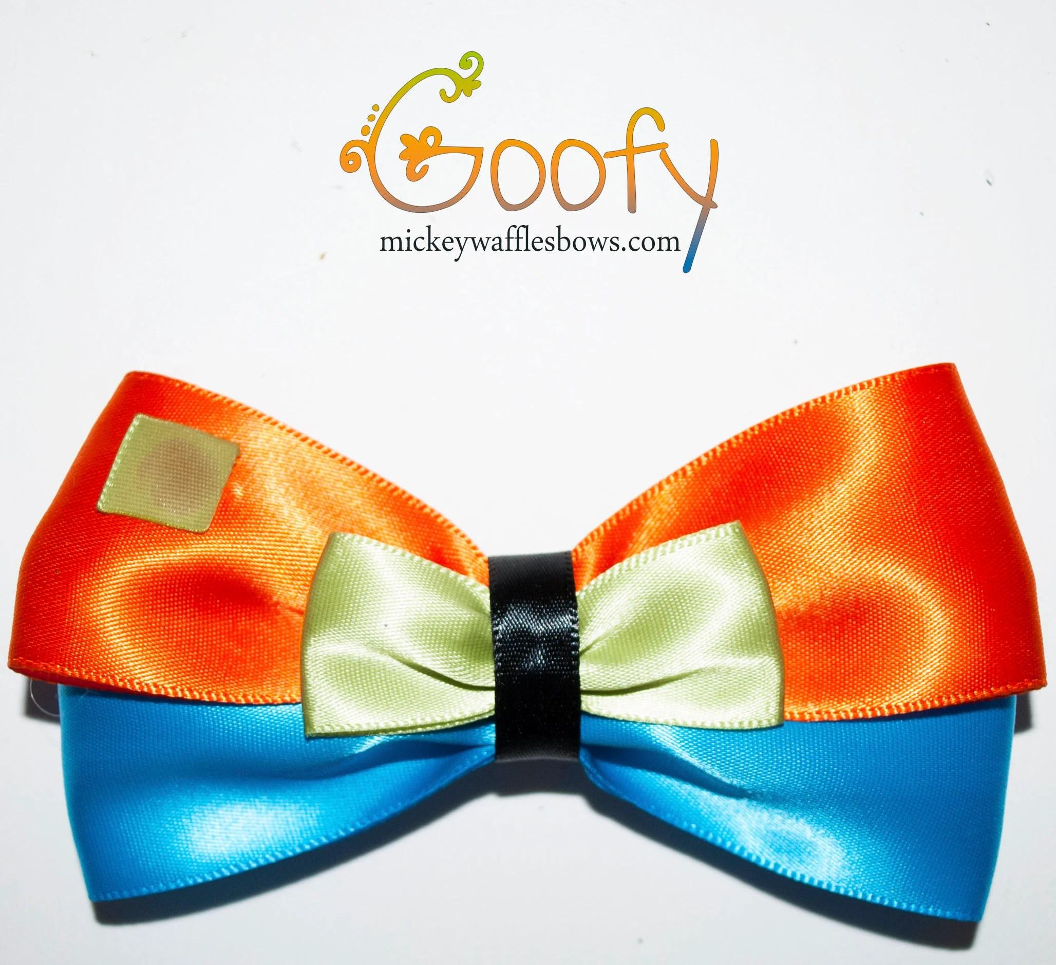goofy hair bow