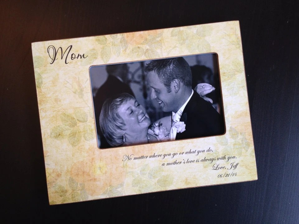 Mother Of The Groom Wedding Gift Personalized Mother's Day