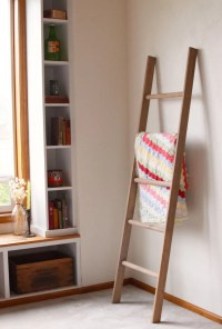 Wooden Wall Ladder Decor - Wall Decor Ideas