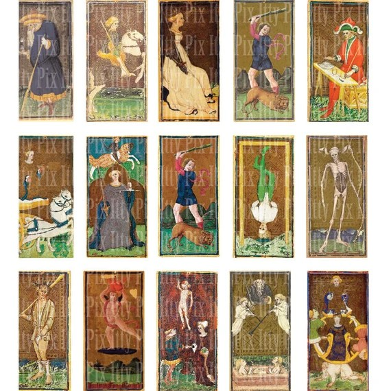 Image result for tarot visconti sforza