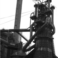 Blast Furnace number 7 at Carrie Furnace site Rankin PA