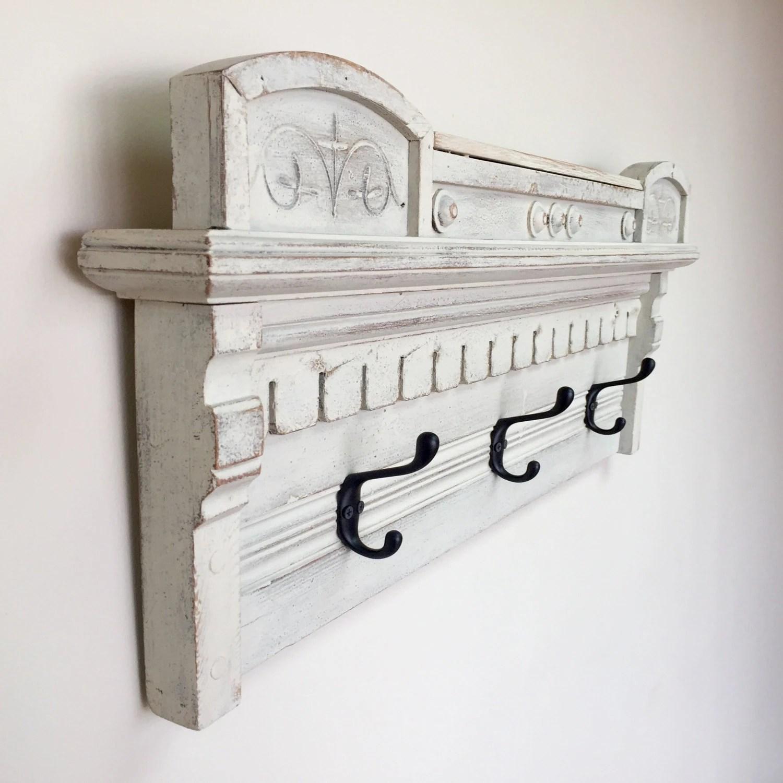 wall mounted chair rack country song rocking coat hanger eastlake furniture