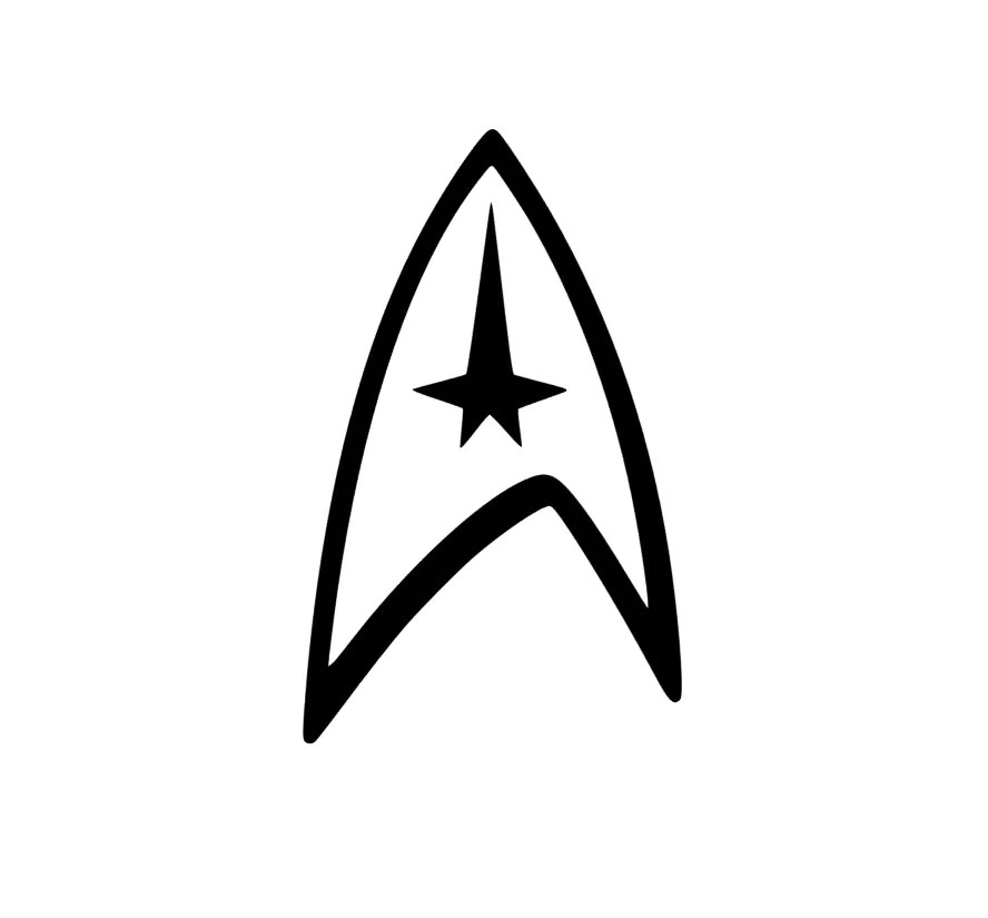 Star Trek Decal Star Trek Logo Yeti Decal RTIC Decal