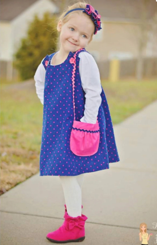 Easter Dress Reversible Aline Jumper Pattern Easy