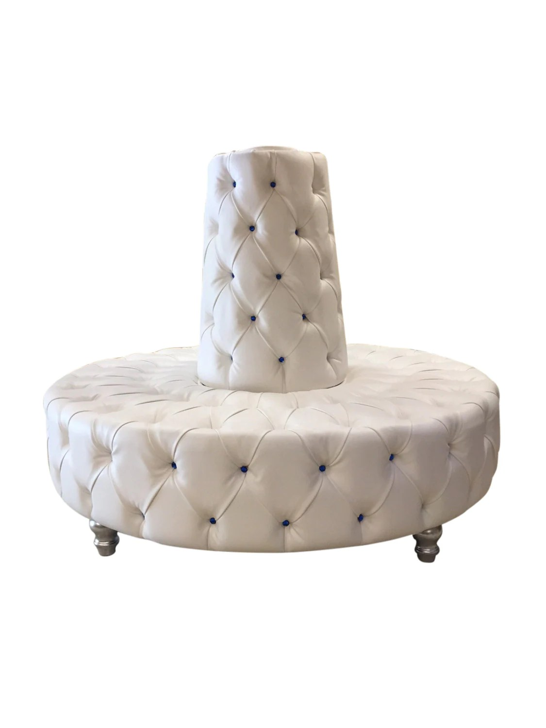 circular chairs for sale best posture chair uk round sofa tufted banquette lobby booth
