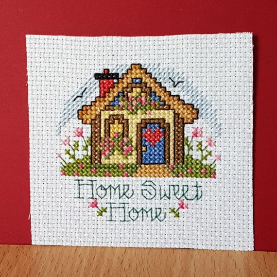 Home Sweet Home in Cross Stitch