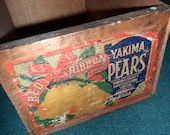 Vintage Wooden Fruit Crat...