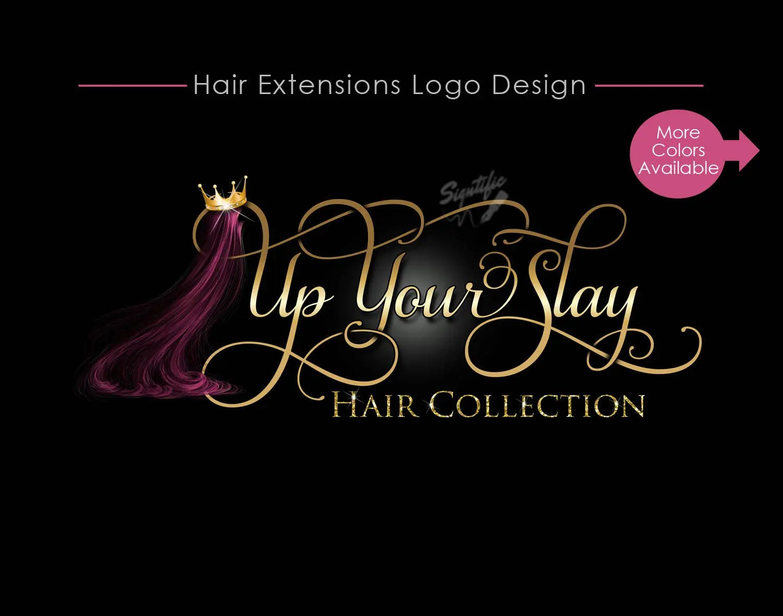 hair business logo design
