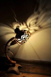 LUMINUS Special Wooden Lamp Elegant Shape Woody lighting