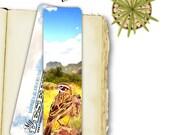 Bird Photo Bookmark, Lark...
