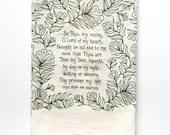 Hymn Tea Towel Be Thou My...