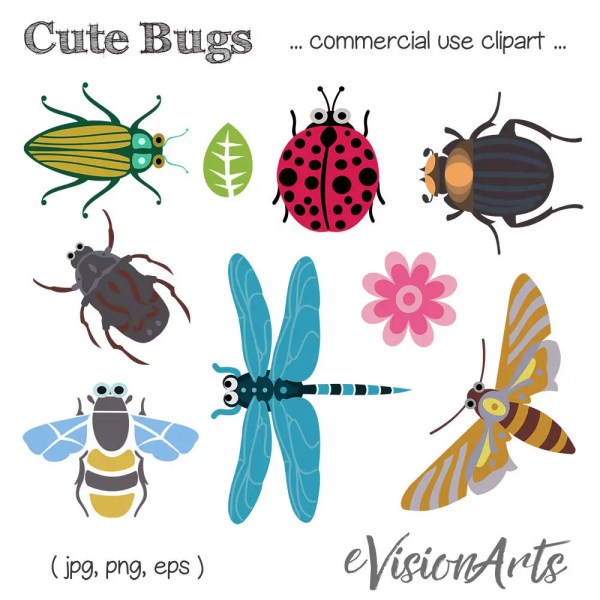 bug clip art insect bee