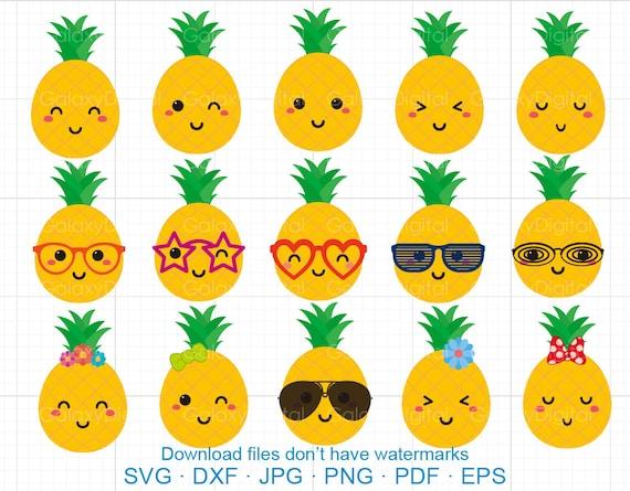 Taco Pictures Cartoon Cute Wallpaper Cute Pineapple Clipart Svg Tropical Sunglass Pineapple