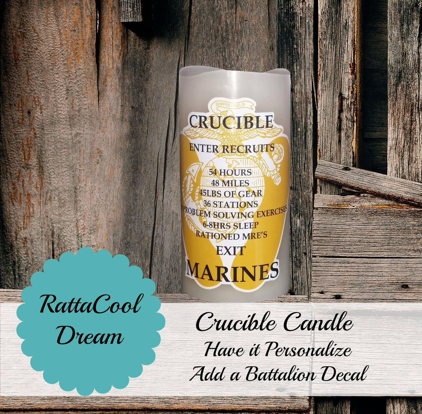 picture about Crucible Candle Printable referred to as Crucible Candle Usmc Culture - 12 months of Fresh new Drinking water