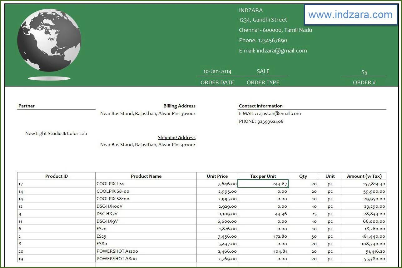 Einzelhandel Inventar Und Verkaufsleiter Excel Vorlage