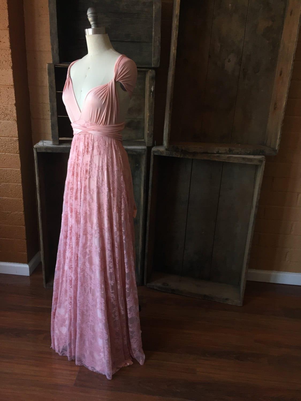 Coralie Beatrix Vintage Style Lace Long Infinity Wrap