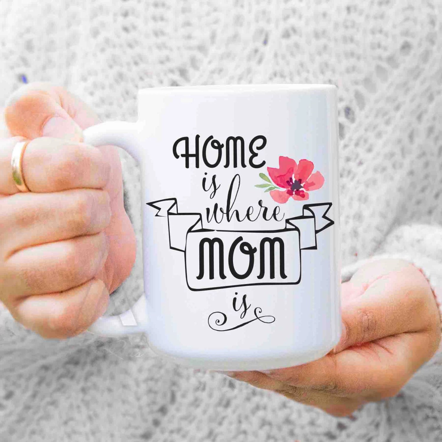 Mothers Day Gifts For Mom From Daughter Home Is Where