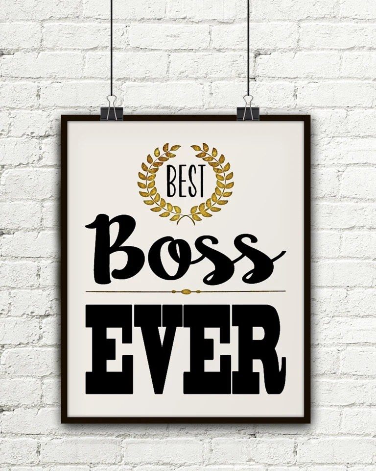 For The Man Who Has Everything Boss Gift Personalized
