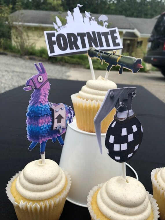 Fortnite Cupcake Picks