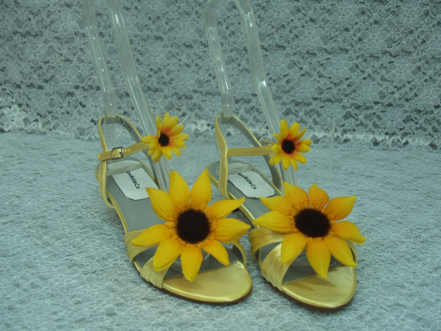 Sunflower Wedding Shoes Bridesmaids Affordable