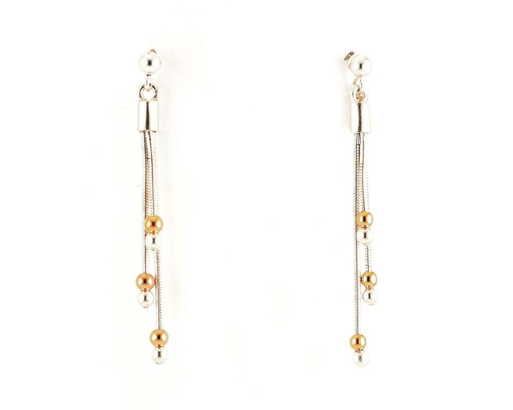 Bling Bling long earrings