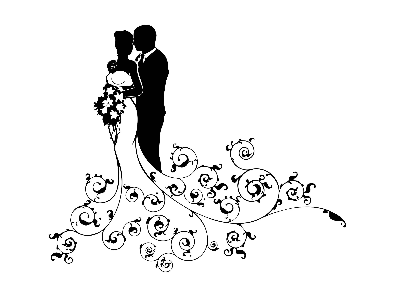 Wedding Day Dress Groom Beautiful Love Marriage Bride Couple