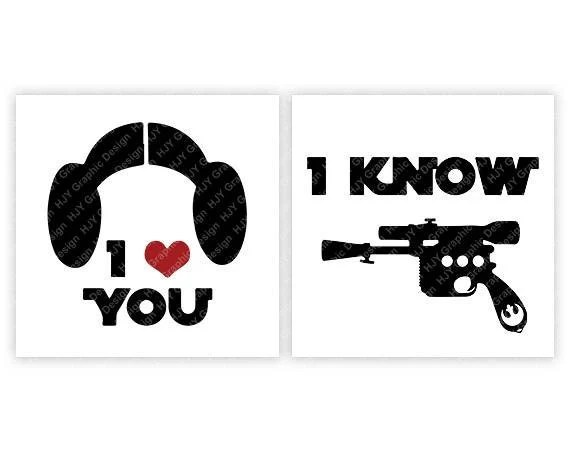 Download Disney Star Wars I Love You I Know Buns Blaster Princess