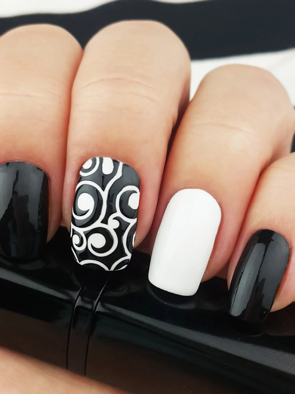 vine vinyl nail stencils incredible