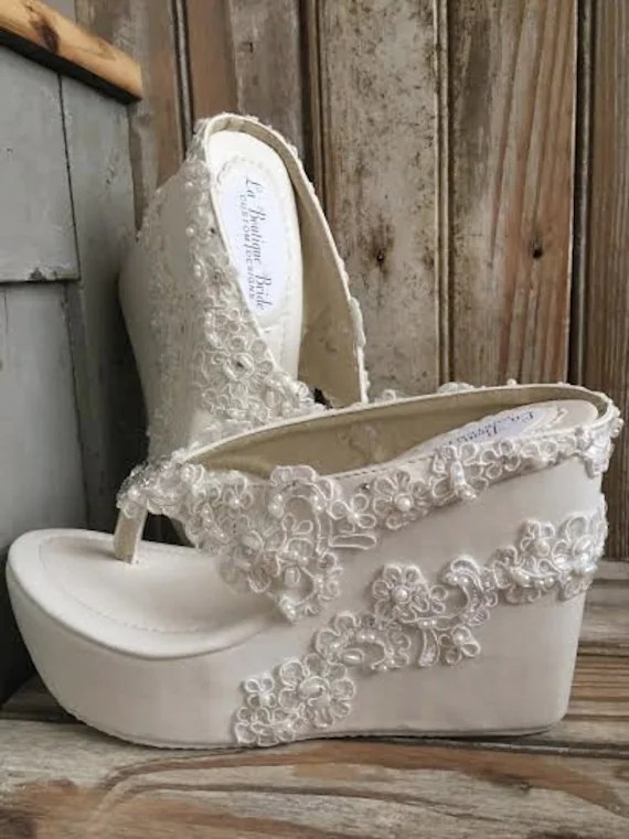 Beach Wedding Footwear