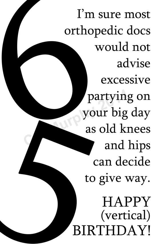 DOWNLOAD 65th Birthday Card Turning 65 Happy Birthday Friend