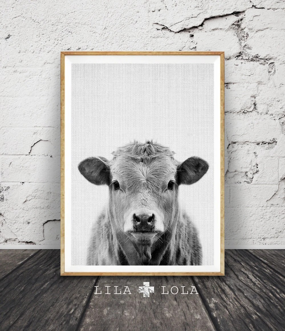 Cow Print Office Chair