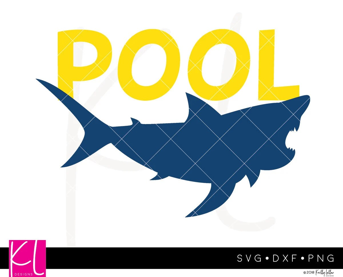Pool Shark Svg Summer Boy
