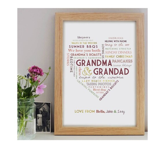 Personalised Grandparent Print