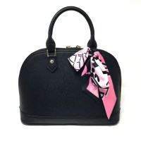 1 Pc Silk Twilly Purse Scarf Handbag Accessories Twill
