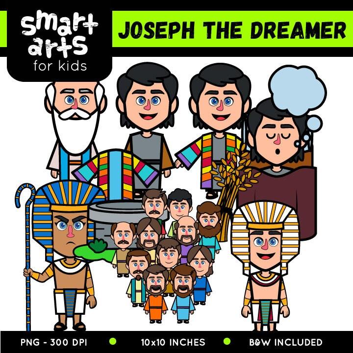 joseph dreamer clip art cricut
