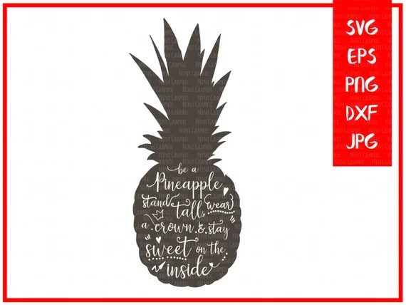 Download Pineapple SVG files for Silhouette svg files Cricut Explore