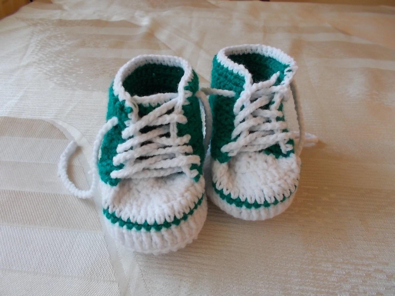niedrigerer Preis mit riesige Auswahl an Neueste Mode Baby Chucks Häkeln Video