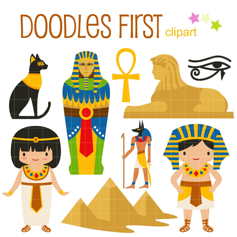 Das Alte Agypten Digital Clipart Fur Scrapbooking Card Making