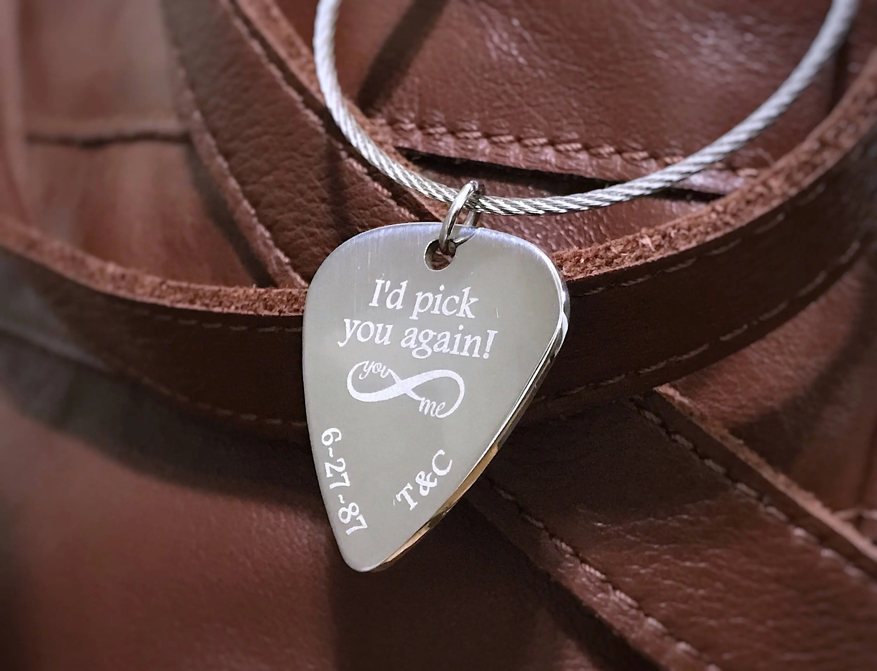 Personalized Gift For Boyfriend Custom Guitar Pick Gifts For