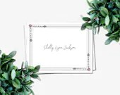 Personalized Folded Note ...