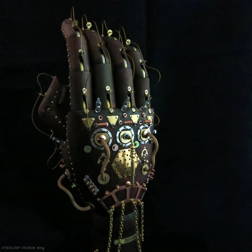 Steampunk Prosthetic Hand