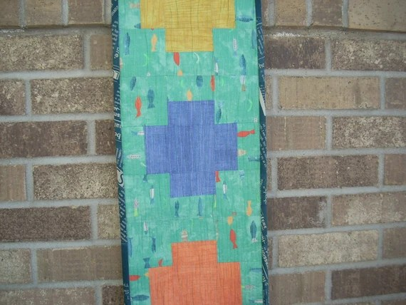 story plus tablerunner pattern sheet