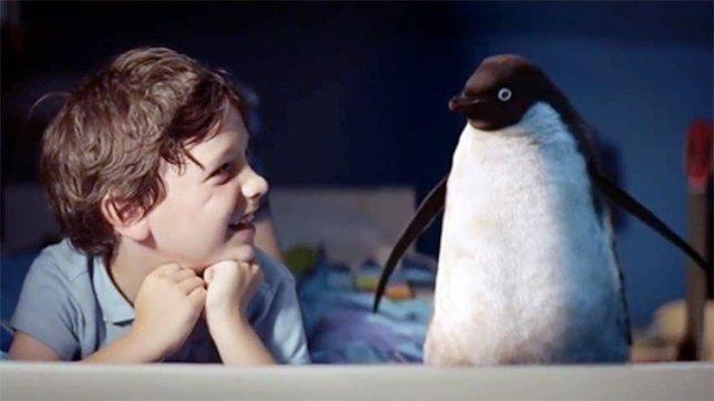 Sam y Monty, el pingüino